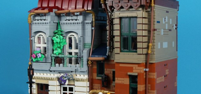 Modular building LEGO MOC