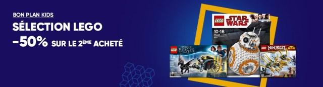 Promo LEGO Fnac 50
