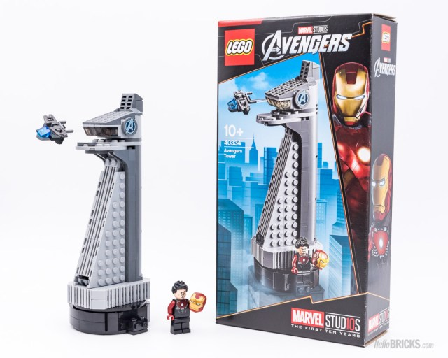 Review LEGO 40334 Avengers Tower