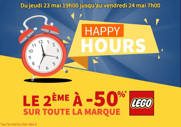 LEGO happy Hours King Jouet
