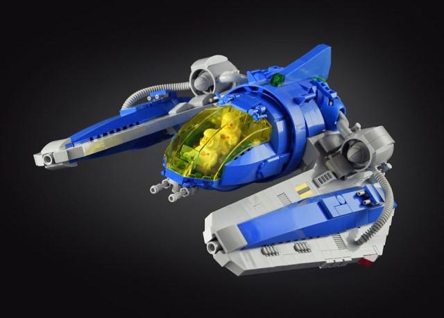 LEGO spaceship Blue Artamus