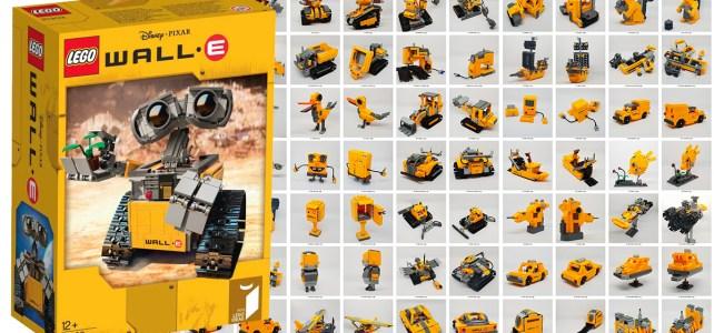 One Set MOC LEGO 21303 Wall-E