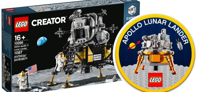 Patch LEGO 10266 NASA Apollo 11
