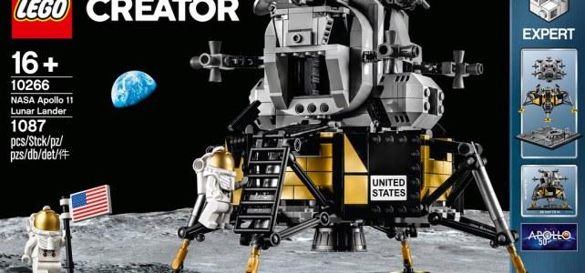 Nouveauté LEGO Creator Expert 10266 NASA Apollo 11 Lunar Lander : l'annonce officielle