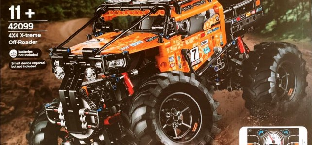 LEGO Technic 42099 4x4 X-Treme Off-Roader