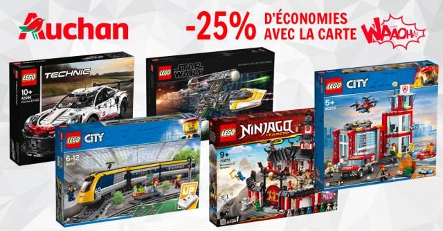 Promo LEGO Auchan 2019