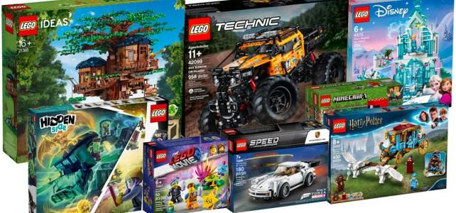 Les nouveautés LEGO du 1er août sont disponibles : le récap des nouveaux sets