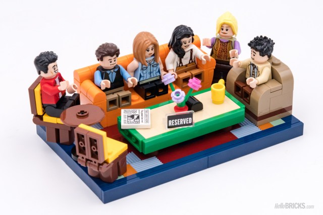 REVIEW LEGO Ideas 21319 Central Perk Friends