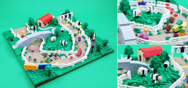 Mario Kart 64 LEGO Moo Moo Farm