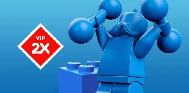LEGO VIP x2 octobre 2019