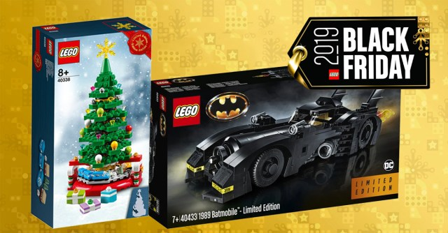 Black Friday LEGO 2019