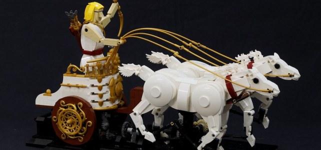 LEGO MOC cinetique JK Brickworks Apollon