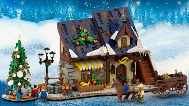 LEGO Winter Village Green Grocer