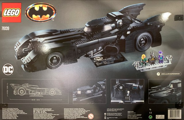 Nouveauté LEGO Batman 76139 1989 Batmobile