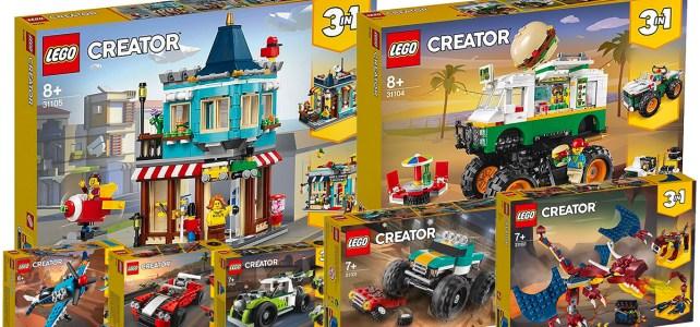 Nouveautés LEGO Creator 2020