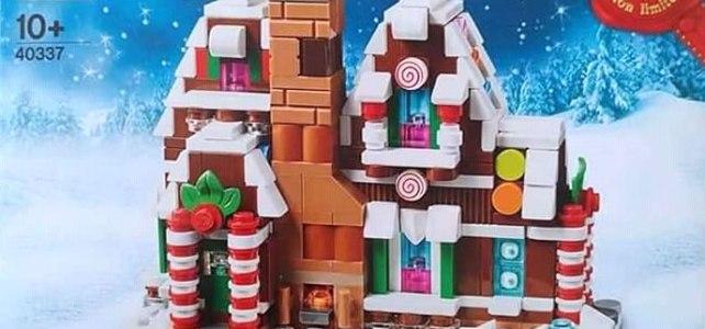 LEGO 40337 Gingerbread House 2019