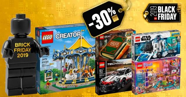 LEGO Black Friday Cyber Monday