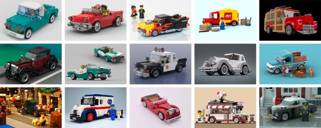 LEGO Ideas Vintage cars challenge