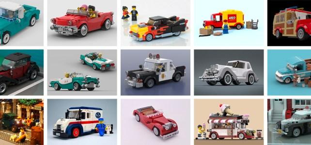 LEGO Ideas Vintage cars : votez pour le prochain mini set offert par LEGO !