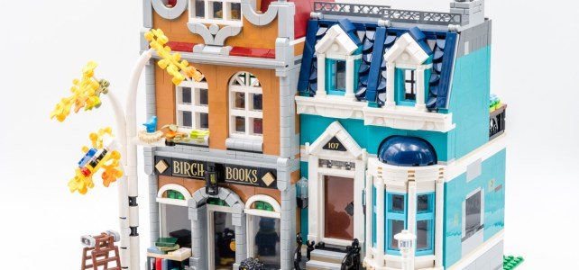 REVIEW LEGO 10270 Modular Bookshop