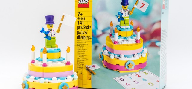 REVIEW LEGO 40382 Birthday Set