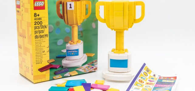 REVIEW LEGO40385 Trophy