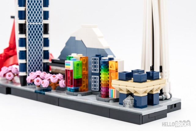 REVIEW LEGO Architecture 20151 Tokyo Skyline