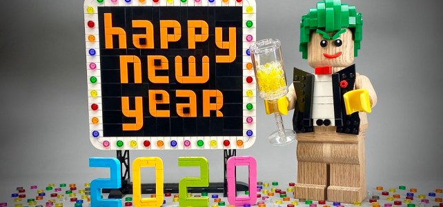 Happy New Year LEGO 2020