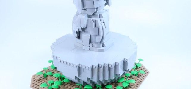 LEGO Buddha Zen
