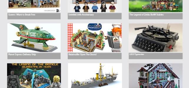 LEGO Ideas : les 12 derniers projets qualifiés en 2019