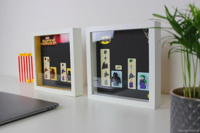 Minifigs LEGO cadre IKEA