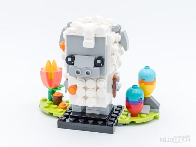 REVIEW LEGO BrickHeadz 40380 Sheep