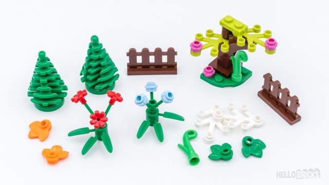 REVIEW LEGO Xtra 40376 Botanical Accessories