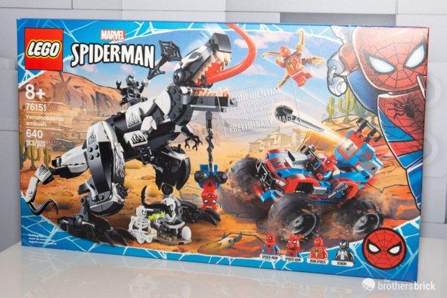 LEGO 76151 Venomosaurus Ambush