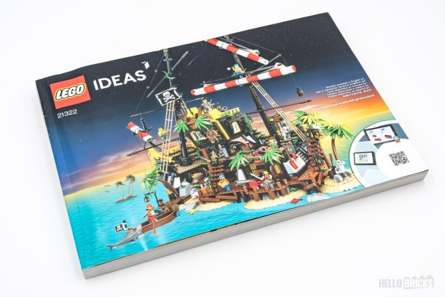 REVIEW LEGO Ideas 21322 Pirates of Barracuda Bay