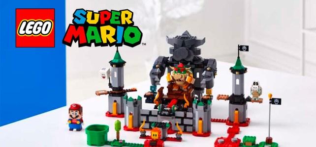 LEGO Super Mario : premiers visuels officiels du pack de démarrage et des extensions
