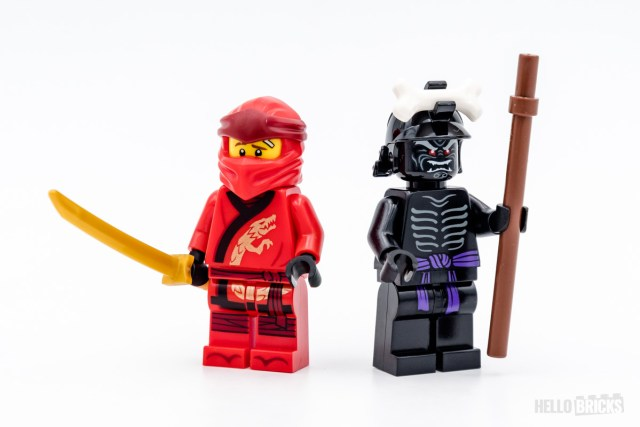REVIEW LEGO Ninjago 71701 Kai's Fire Dragon