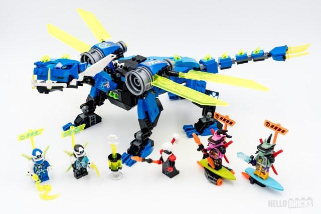 REVIEW LEGO Ninjago 71711 Jay's Cyber Dragon