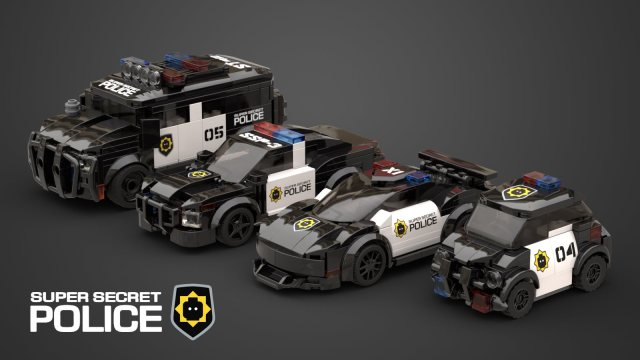 LEGO Movie Super Secret Police