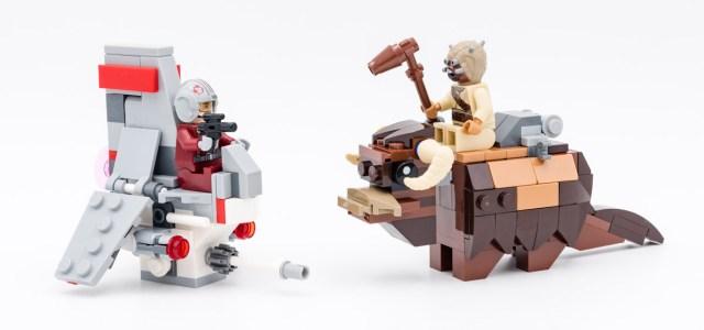 REVIEW LEGO 75265 T-16 Skyhopper vs. Bantha