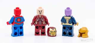 REVIEW LEGO Marvel 76140 76141 76146 minifigures