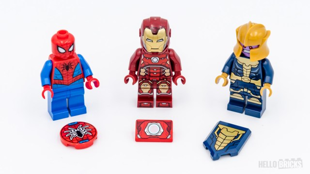 REVIEW LEGO Marvel 76140 76141 76146 printed parts