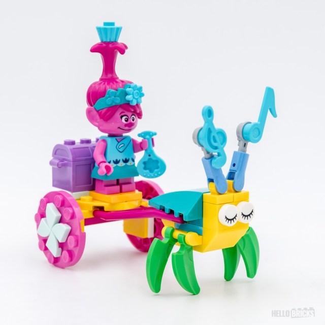 REVIEW LEGO Trolls 30555 Poppy's Carriage
