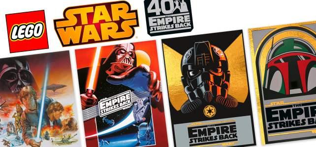 Sur le Shop LEGO : des cartes collector Star Wars L'Empire contre-attaque offertes