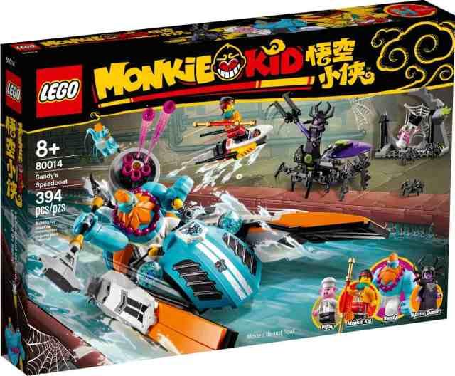 LEGO 80014 Monkie Kid Sandy's Speedboat
