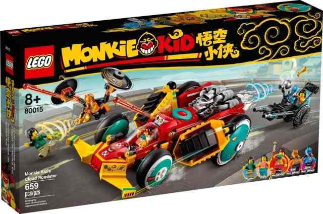 LEGO 80015 Monkie Kid's Cloud Roadster