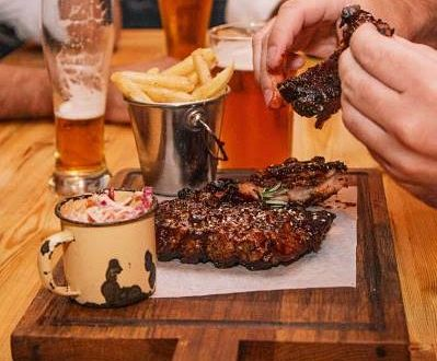 Saturday Half Price Ribs & Drinks at The Village Idiot