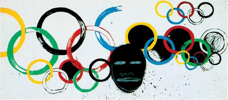 Warhol Basquiat Olympic Rings