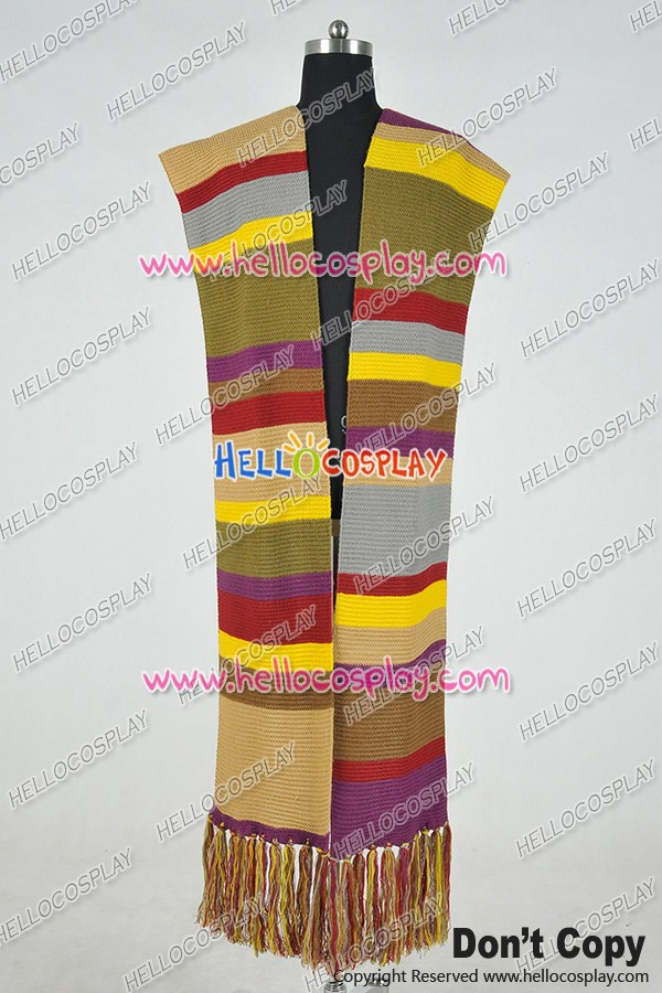 4th Doctor Scarf Length