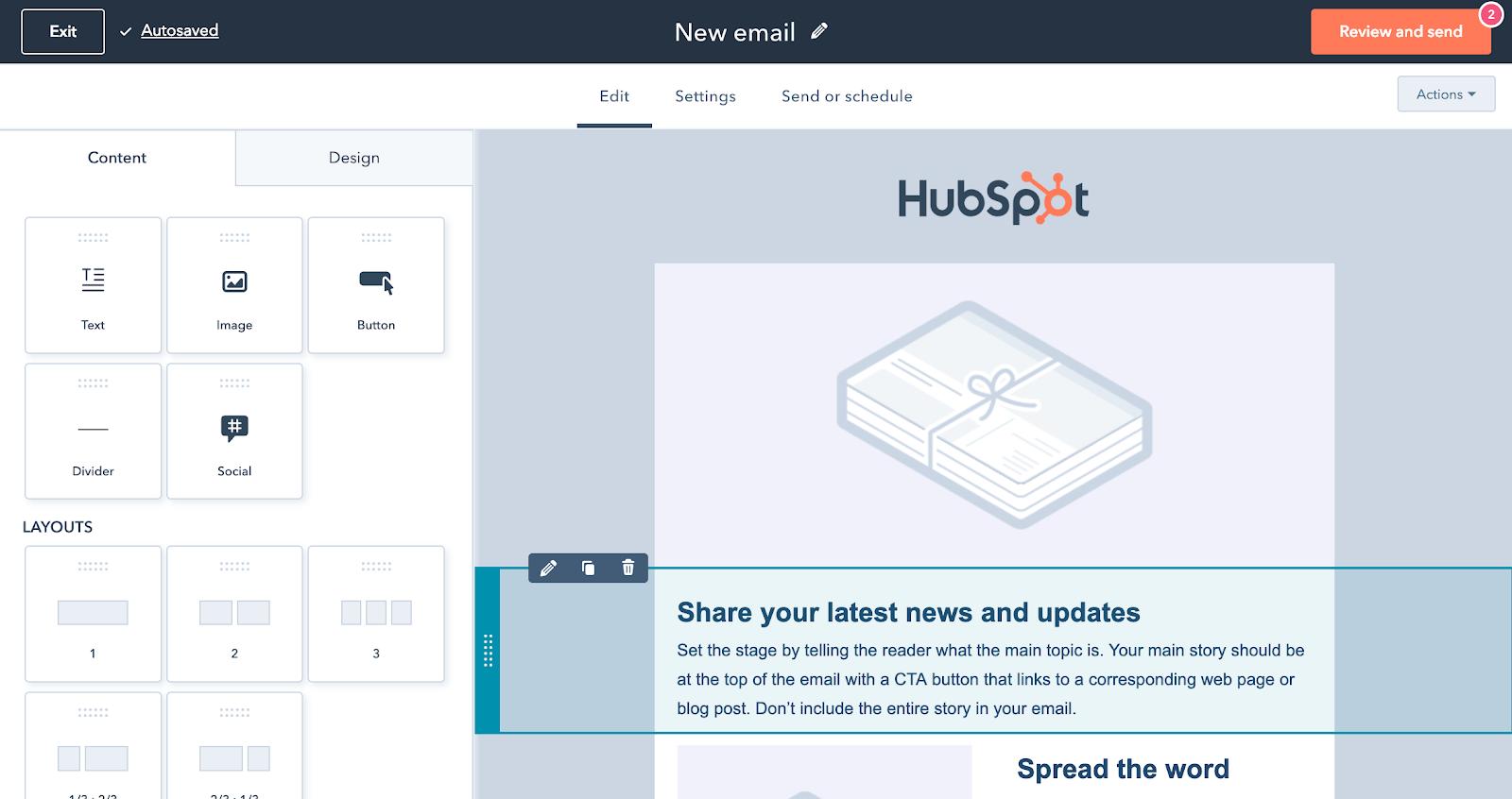 허브스팟 무료 메일 기능 ㅣ 헬로디지털